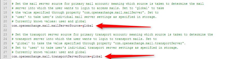 openxchange-setup correo
